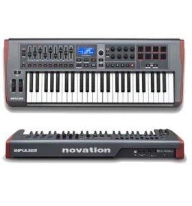 Миди-контроллер клавиши Novation impulse 49