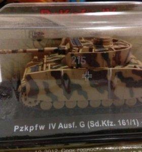 Танк Pzkpfw IV Ausf G 1943 коллекционная модель