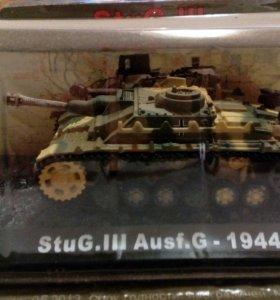 Танк StuG.III Ausf.G 1944 коллекционная модель