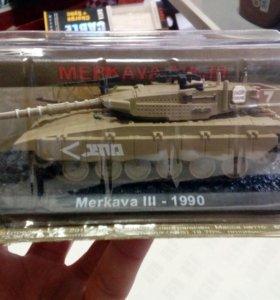Танк Merkava III 1990 коллекционная модель
