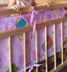 Детская кроватка!)