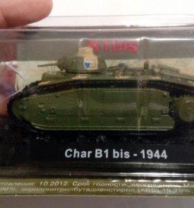 Танк Char B1 Bis 1944 коллекционная модель