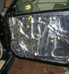 Вибро и шумоизоляция авто