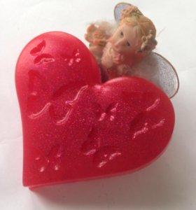Мыло-сердечко