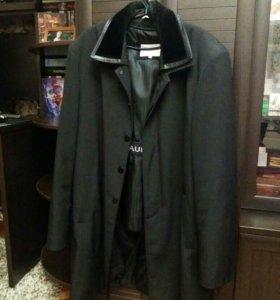 Новое Мужское пальто с подкладкой из кролика