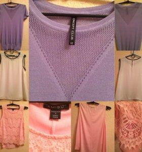 Блузы по 200 xs