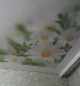 Натяжные Потолки с Нишей под шторы