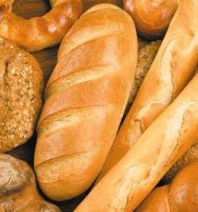 Хлеб в мешках.
