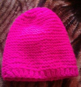 Детская шапочка вязанная