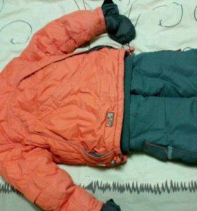 Зимний детский кастюм