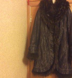 Пальто женское зимнее р.46