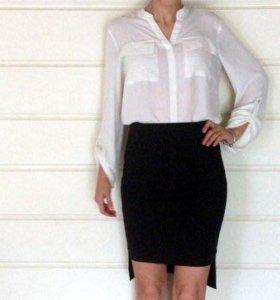 Ассимитричная юбка zara