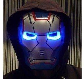 Железный человек синий (iron man)