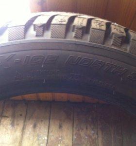 R18 Michelin X-ICE North 3 255/45 зима шипы