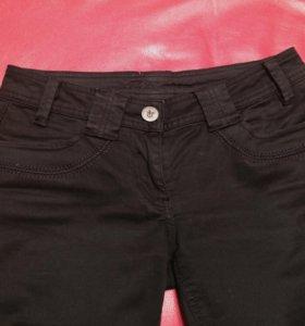 Джинсы брюки школьные чёрные женские Zolla, XS
