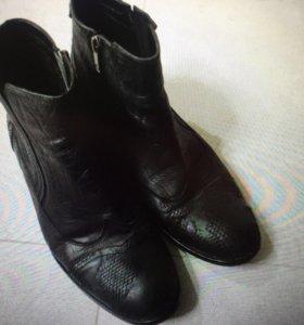 Ботинки кожан 44