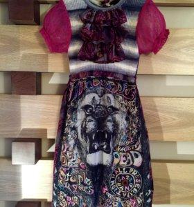 Платье Custo Barcelona.с принтом. Испания.