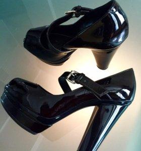 Туфли Sonia Rykiel из лакированной кожи