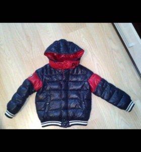 Демисезонная куртка для мальчика Benetton, 123-128