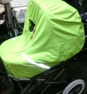 Чехол для коляски от снега и дождя