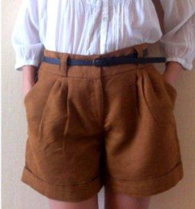 Велюровые шорты