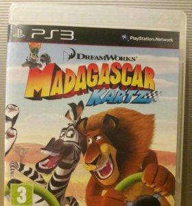 Игра Гонки Мадагаскар на PlayStation3