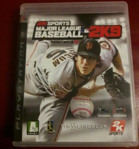 Major League Baseball 2k9 Игра на PlayStation 3