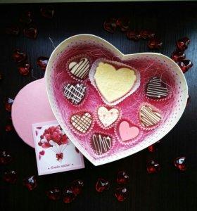 Подарки на 14 февраля конфеты