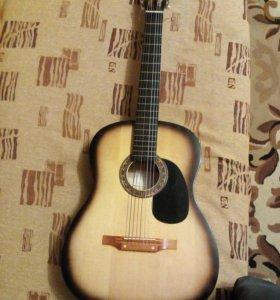 Гитара Акустика Новая!!!(7 струн)