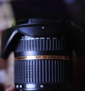 Tamron sp 10-24mm байонет Nikon