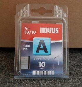 Скобы для мебельного степлера novus 53/10 042-0357