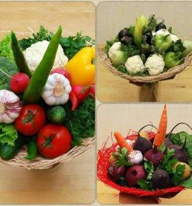 Овощные букеты