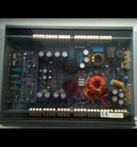 Усилитель, конденсатор, провода