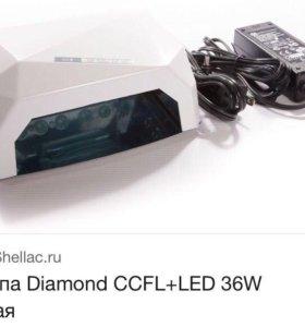 Лампа Diamond CCFL+LED 36W Пользовались пару раз!