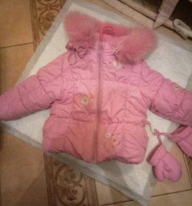 Куртка на зиму 74р