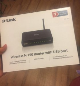 D-Link wireless N 150 Router with USB port