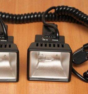 Галогенные светильники 100wat 12v. 2штуки