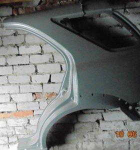 Крыло заднее левое Киа Соренто2006г