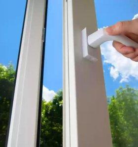 Замена уплотнения пластиковые окна