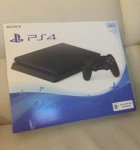 Новая Sony PlayStation 4 slim 500гб