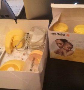 Молокоотсос электрический Medela Медела +3 бутылоч