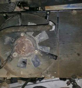 Радиатор волга 3110