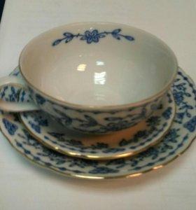 Фарфоровые чайные пары