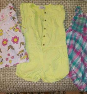 Одежда для девочек летняч