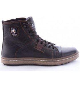 Зимняя обувь мужская с мехом ARIES