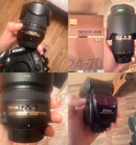 Фотоаппарат д90