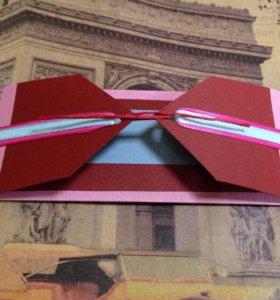 Подарочные конверты, упаковка.