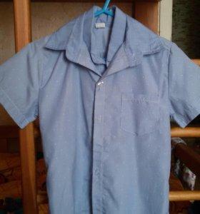Рубашка для мальчика на 4-5 лет (2-шт)
