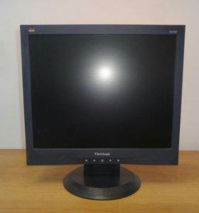 """Монитор ЖК 17"""" 5:4 ViewSonic VA703B черный"""