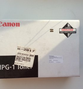 Тонер Canon NPG-1, для NP1215/1550/6216, черный